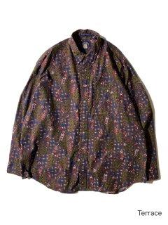 90's GANT Paisley Pattern Cotton Imperial Poplin BD Shirt