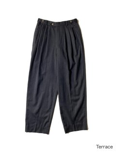 80's Euro 3tuck Trousers W31 CHARCOAL