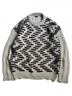 80's into sports Design Knit