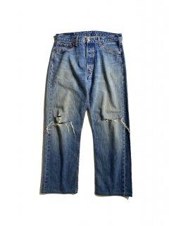 Euro Levi's 501 Denim Pants MADE IN TURKEY (実寸 W34 L27)