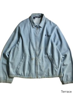 90's Polo by Ralph Lauren Dungaree Drizzler Jacket XL MADE IN U.S.A.