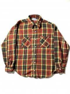 70's BIG MAC Heavy Cotton Flannel Shirt XL