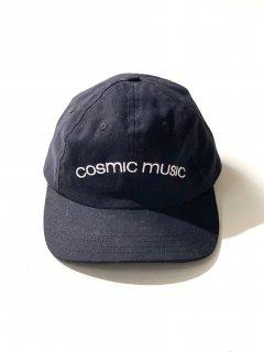 COSMIC MUSIC 6panel Cap BLACK  MADE IN U.S.A.