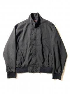 80's HILTON Zip-up Jacket BLACK