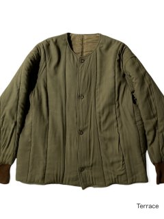 60's Czech Military Quilting Liner Jacket