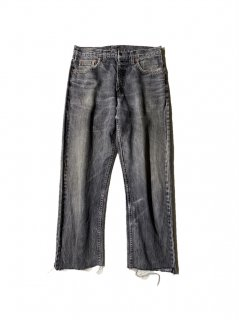 90's Euro Levi's 615 Black Denim Pants