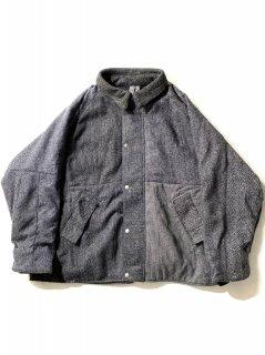 Vintage Harris Tweed Fabric Patchwork Jacket [1]