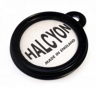 Halcyon製 ライセンスホルダー272/273 ブラック/ステンレス【BEE TRAD】