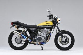チタンメガホン スポーツアップタイプ SR400(FI/10-17年) 【オーヴァーレーシング 】