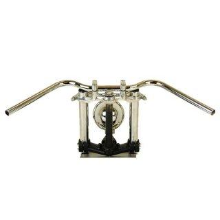 オールドバーロー クローム AMAL364ホルダーBK ワイヤーセットSR400(01年以降) 【モーターガレージグッズ】