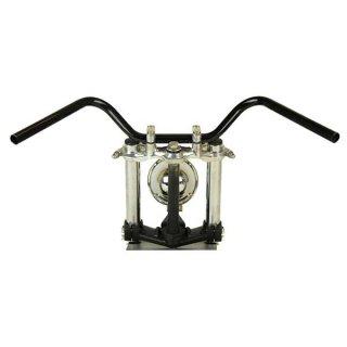 オールドバーハイ ブラック AMAL364ホルダーBK ワイヤーセットSR400(01年以降) 【モーターガレージグッズ】