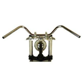 オールドバーハイ クローム AMAL364ホルダーBK ワイヤーセットSR400(01年以降) 【モーターガレージグッズ】
