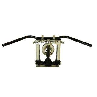 オールドバーロー ブラック AMAL364ホルダー ワイヤーセットSR400/500(88-00年) 【モーターガレージグッズ】