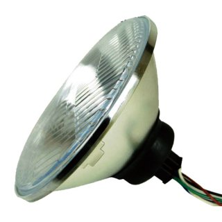 7インチルーカスタイプヘッドライト用ライトユニット【モーターガレージグッズ】