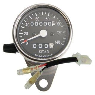 60φスピードメーターキット /SR400/500(85-02年) /トリップ付き【モーターガレージグッズ】