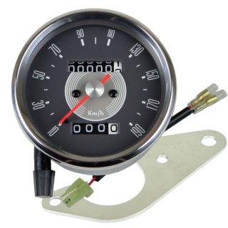 80φSMITHスタイルスピードメーターキット SR400(03-08年)【モーターガレージグッズ】