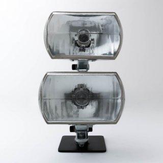 SR,XS650 デュアルライトキット ミラー 角目2灯【2%ER(ツーパーセンター)】