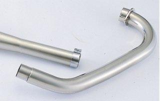 ステンレスエキゾーストパイプ SR400/500(78-08年/キャブレターモデル)【gloss(グロス)】