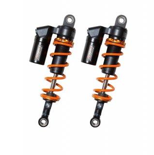 リアサスペンション PHASE2 オレンジ/オレンジ シルバー/ブラック各種SR400/500(全年式)【アラゴスタ 】