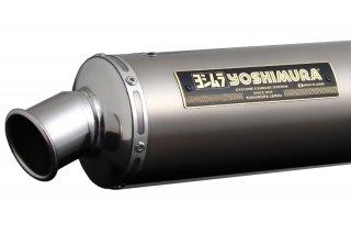 機械曲チタンサイクロン TT ファイヤースペック SR400/500(85-02年)【ヨシムラジャパン】