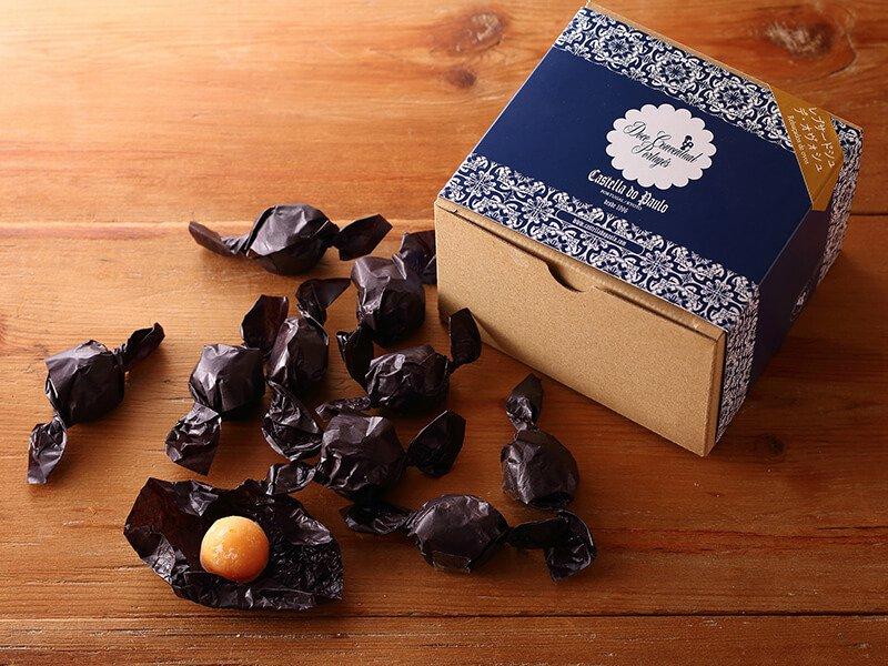 レブサードシュ デ オヴォシュ(サンタクララ修道院レシピの卵黄飴)