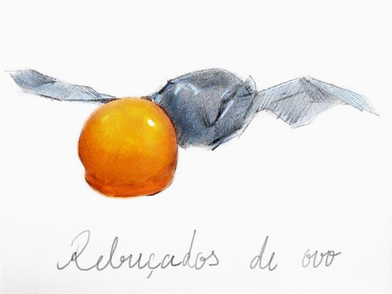 黄金色にきらめく食べる宝石/レブサードシュ デ オヴォシュ(卵黄飴)10個