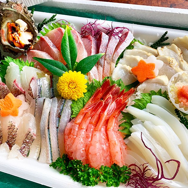 【父の日】川端鮮魚のお刺身盛り合わせ