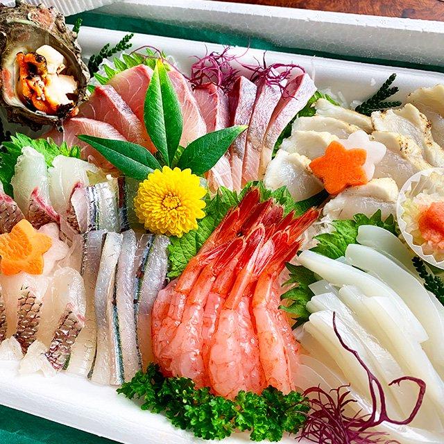 【バレンタイン限定】川端鮮魚の刺身盛り合わせ
