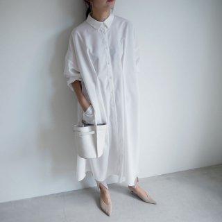 19ss ladyロングシャツワンピース 日本製