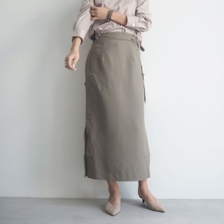 19ss グルカベルトスリットスカート