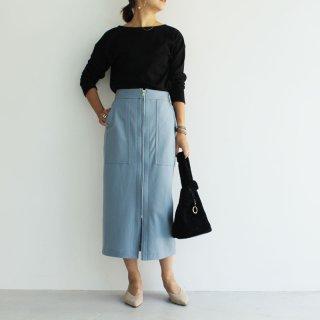 cen.19aw ウールボックススカート