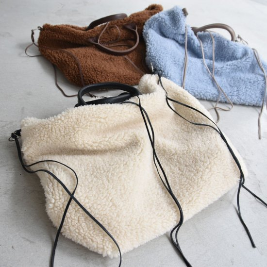 19aw ムートントートバッグ