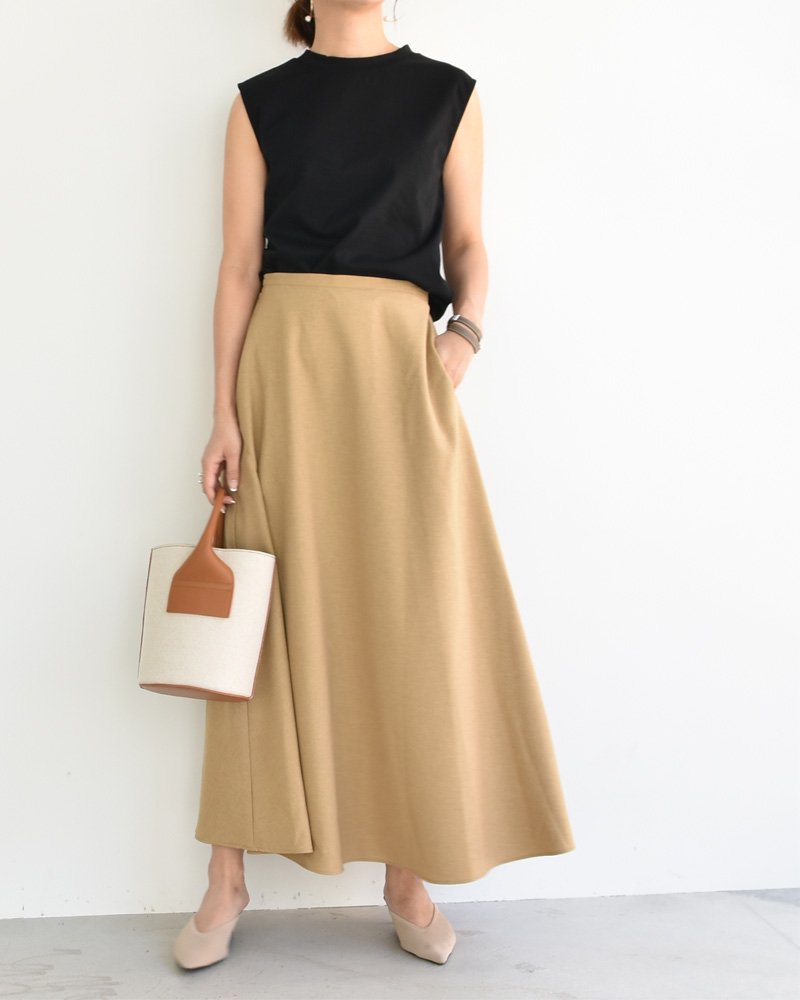 cen. 20summer サマーフレアロングスカート