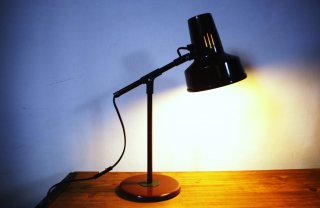 brown stand lamp (M)