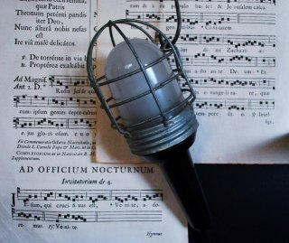 hand lamp czechoslovakia