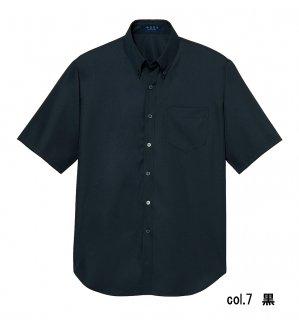 【半袖シャツ】KY0022 男女兼用 菱形小紋 SS〜4L