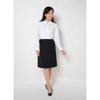 大人女子の定番!ストレッチ素材のウール混冬用 イージー・ケアAラインスカート