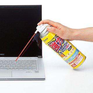 パソコンや精密機械のホコリを吹き飛ばすエアダスター400ml