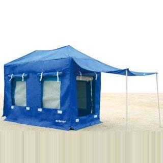 簡易宿泊型テント/3〜4名用 GP-1836 180×360×全高264cm Mr Quick ミスタークイック 送料無料 メーカー直送品