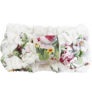 ヘアーバンド  ふんわり 柔らか 花柄 ビリーフ