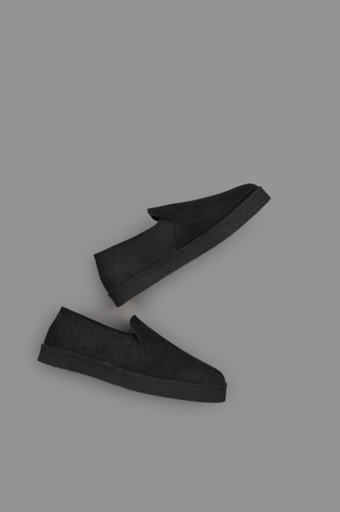 STYLE CRAFT KITCHEN SHOES (OIL SUEDE BLACK)
