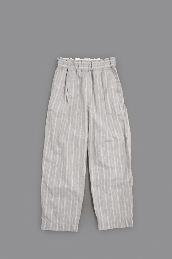 FIRMUM ♀ C/T Dobby Stripe Easy Pants (Grey)