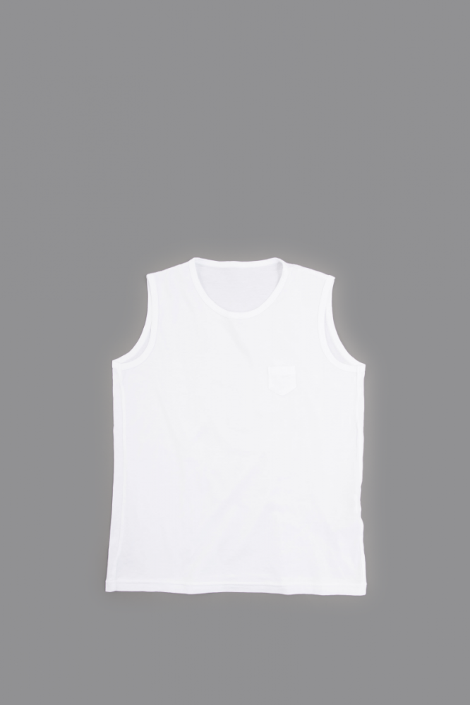 ゴーシュ  ♀ 100/2 Small Pocket Tank top (White)