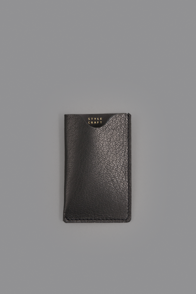 STYLE CRAFT small goods CARD CASE (Ink Black)