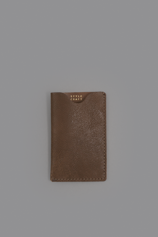 STYLE CRAFT small goods CARD CASE (Oak)