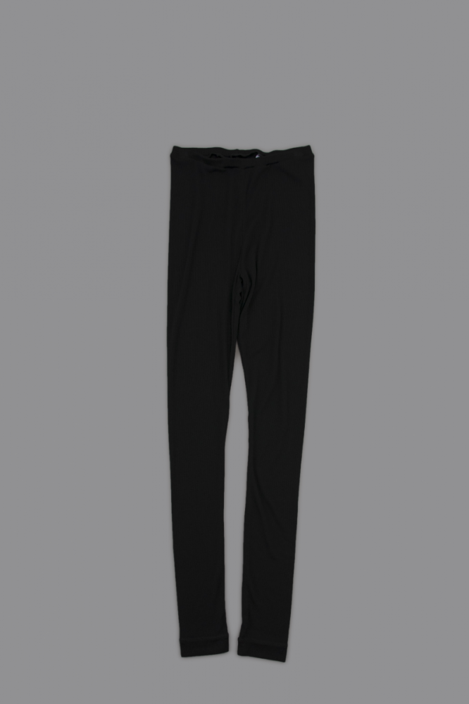 NO CONTROL AIR ♀ 30/- Rayon Spandex Bere Jerjey Leggings (Black)