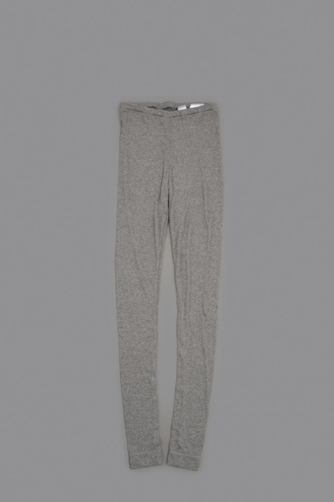 NO CONTROL AIR ♀ 30/- Rayon Spandex Bere Jerjey Leggings (Gray Top)