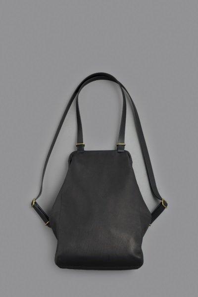 STYLE CRAFT Goatskin Frame 2Way Bag FBA-01 (Ink Black)
