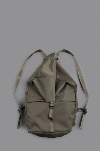 STUFF Leaf Spring Backpack No2 (Nylon Twill Olive)
