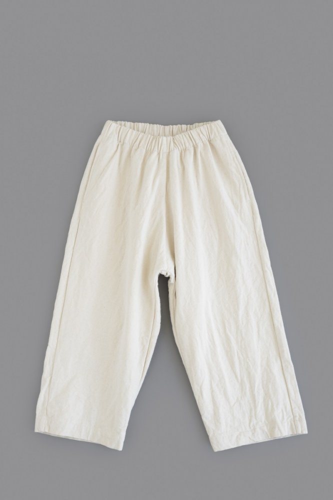 jujudhau ♀ STETECO PANTS (CANVAS NATURAL)